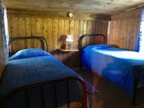 Lodge Owl Blue Bedroom